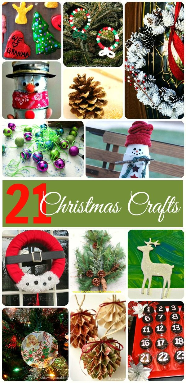 Inexpensive Christmas Craft Ideas Part - 19: DIY Cheap Christmas Crafts. 21 Quick Christmas Craft Ideas For Kids And  Adults. The