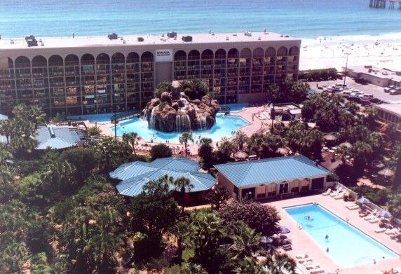 Destin Florida Ramada Plaza Beach