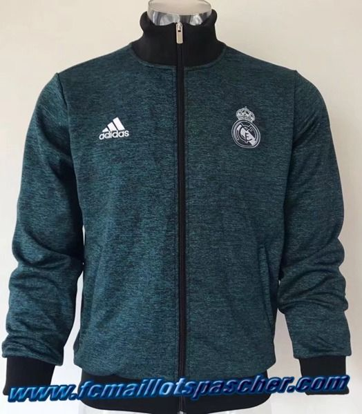 Camouflage Tops Veste Madrid Real Homme Bleu 2017 2018 Adidas qxw4f1