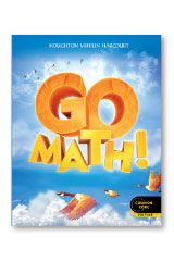 Go Math Student Edition Practice Book Bundle 1 Year Grade 4