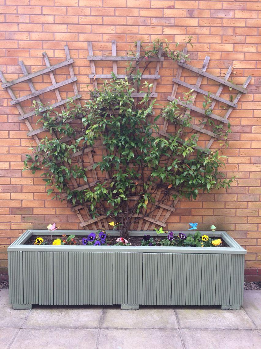 Cuprinol garden shades willow updated wooden planter