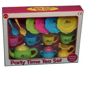 Party Time Tea Set Little Girls Tea Party Baby Girl Infant | eBay~just a thought~
