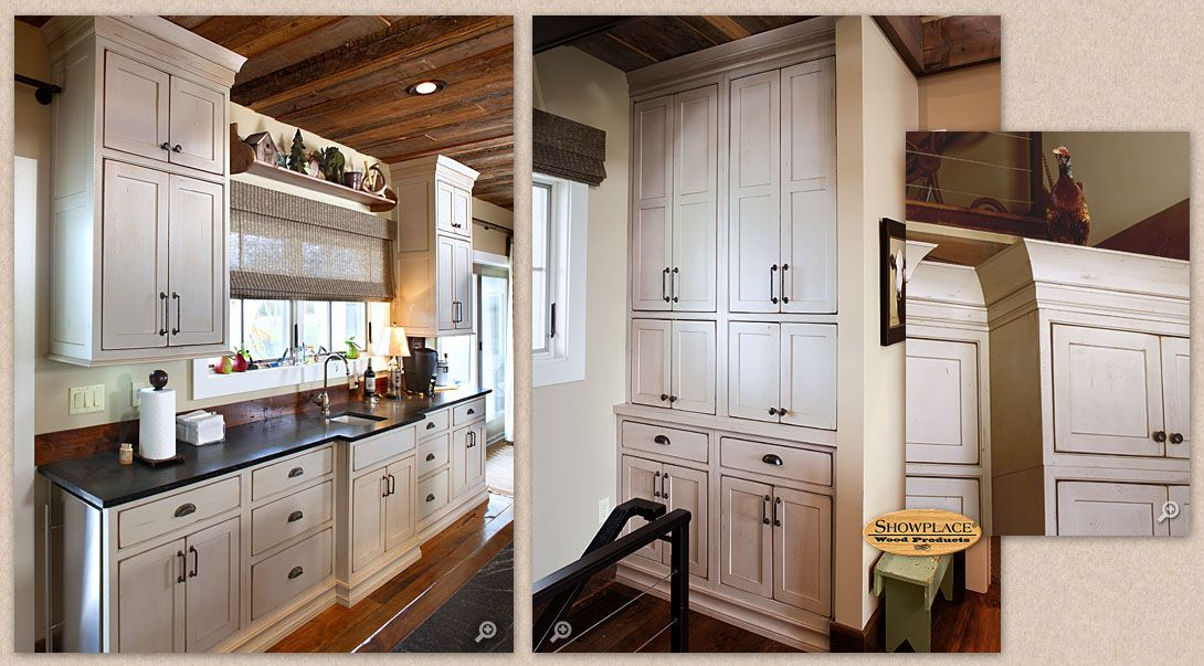 Captivating Cabinets: Showplace Inset Cabinetry Creates The Right Impression In The  Painted Vintage Oyster Finish Idea