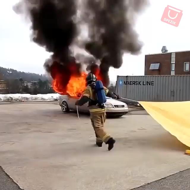 Photo of NDO HOUSEHOLD FIREPROOF FIRE EMERGENCY BLANKET