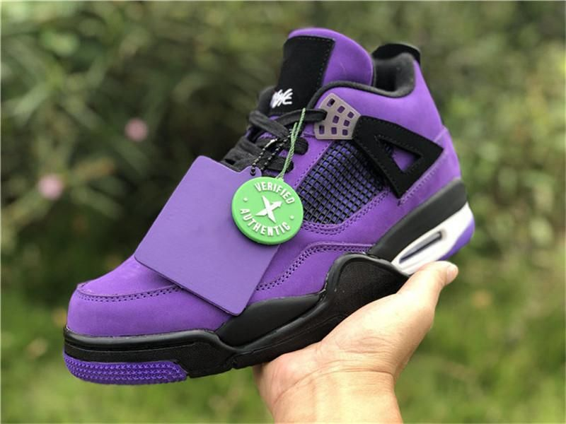 travis scott cactus jack 4s purple \u003e Up