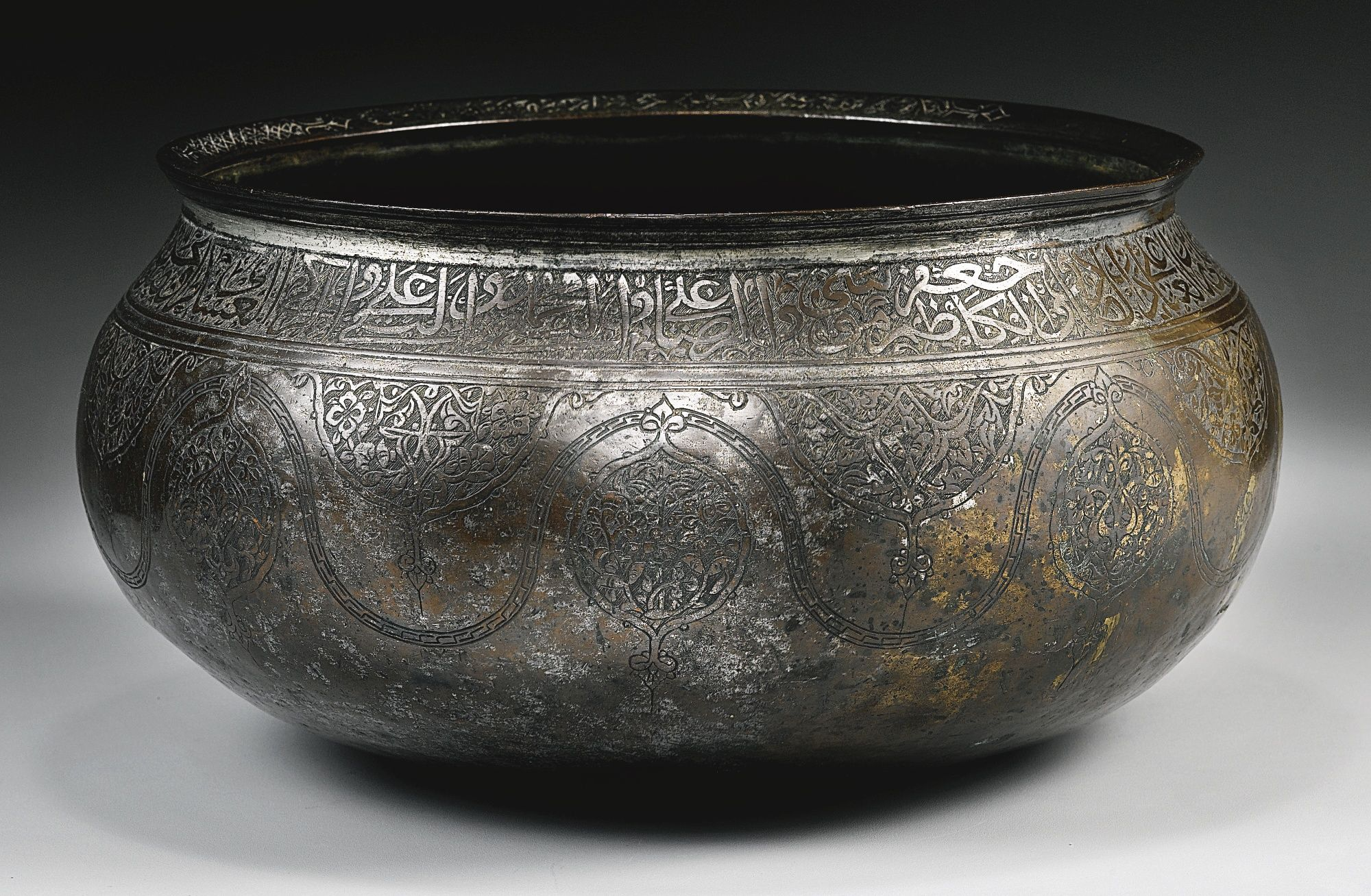 A Safavid tinned-copper bowl, Persia, 16th century | Lot | Sotheby\'s ...