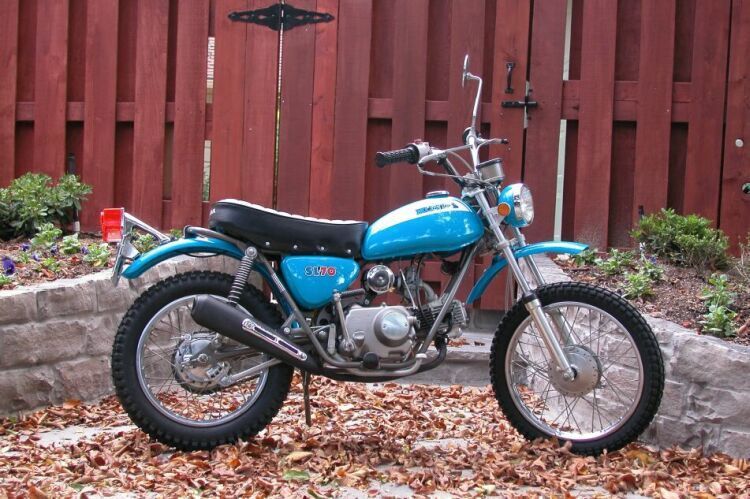 my first motorcycle. a 1970 or 71 honda sl 70 | honda | pinterest
