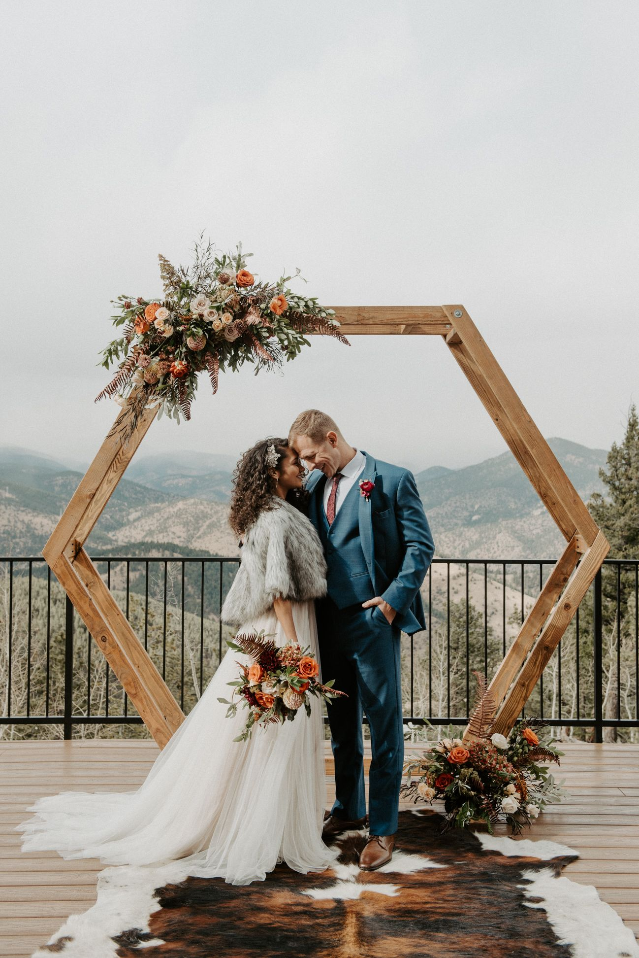 Mountain Glam Wedding Inspiration At North Star Gatherings Via Rocky Mountain Bride In 2020 Mountain Bride Outdoor Wedding Pictures Glam Wedding