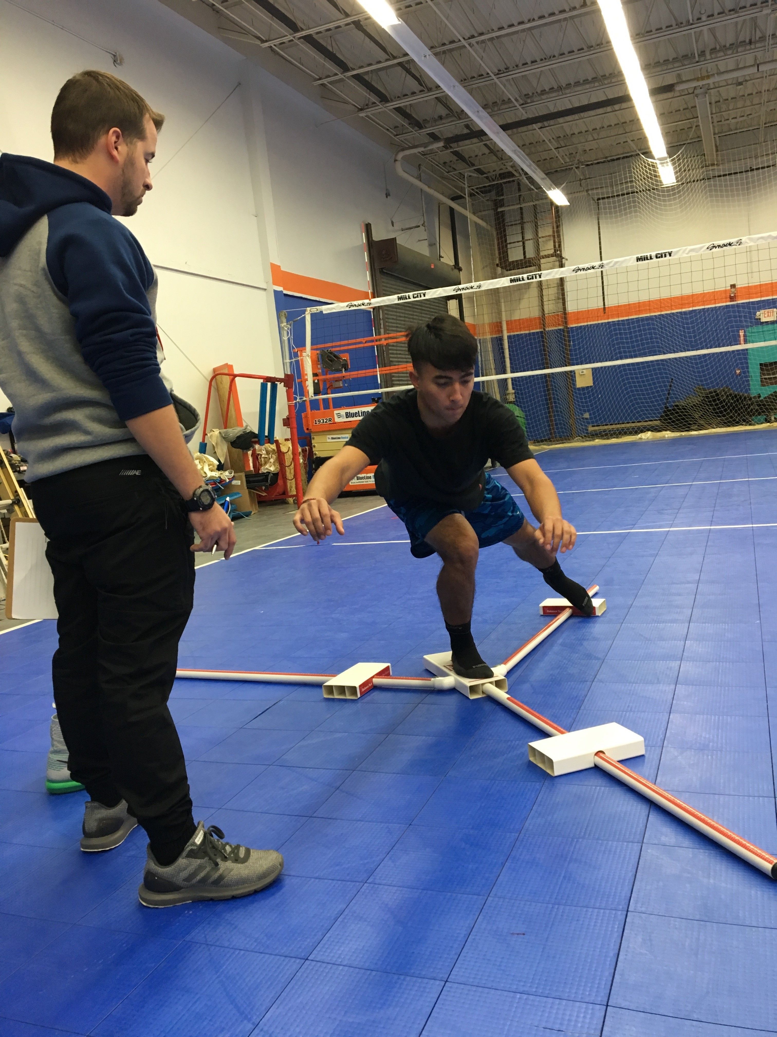 Complete Game Physical Therapy Performed Move 2 Perform Injury Risk Screenings For Mill City Volleyball Club Injury Prevention Physical Therapy Young Athletes