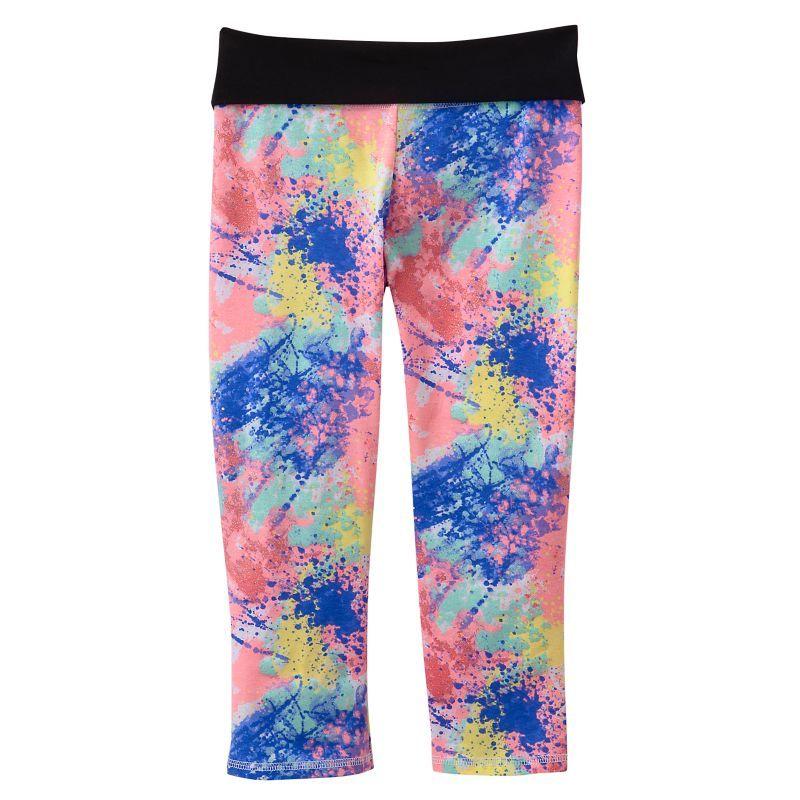 d0495bb690 SO Paint Splatter Yoga Capris - Girls Plus by: SO @Kohl's   Pops of ...
