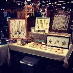 Our booth with my handmade jewelry display! | Aggie Cheung | Flickr