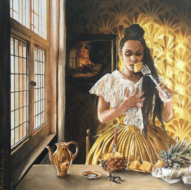 Depicting stories featuring black characters, Colomba's works present complex issues about what it means for people to define themselves through images