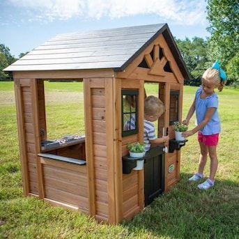 Backyard Discovery Sweetwater Playhouse Wood Playhouse Kit ...