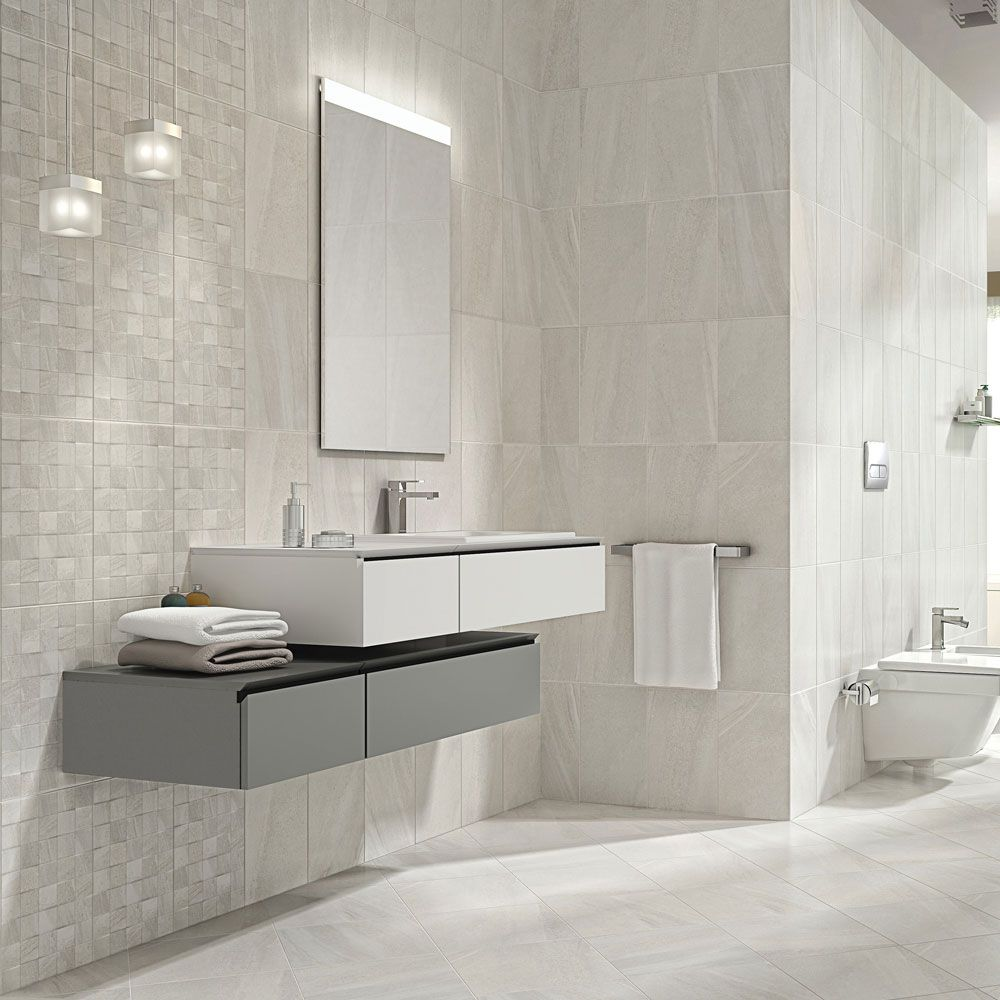 Oceania Stone White Wall Tiles At Victorian Plumbing Co Uk White Wall Tiles Trendy Bathroom Tiles Tile Bathroom