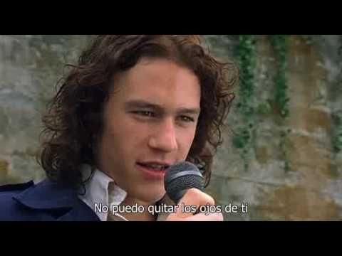 10 Cosas Que Odio De Ti Cant Take My Eyes Off You Subtitulado Espanol Canciones Peliculas Romanticas Buenas Peliculas