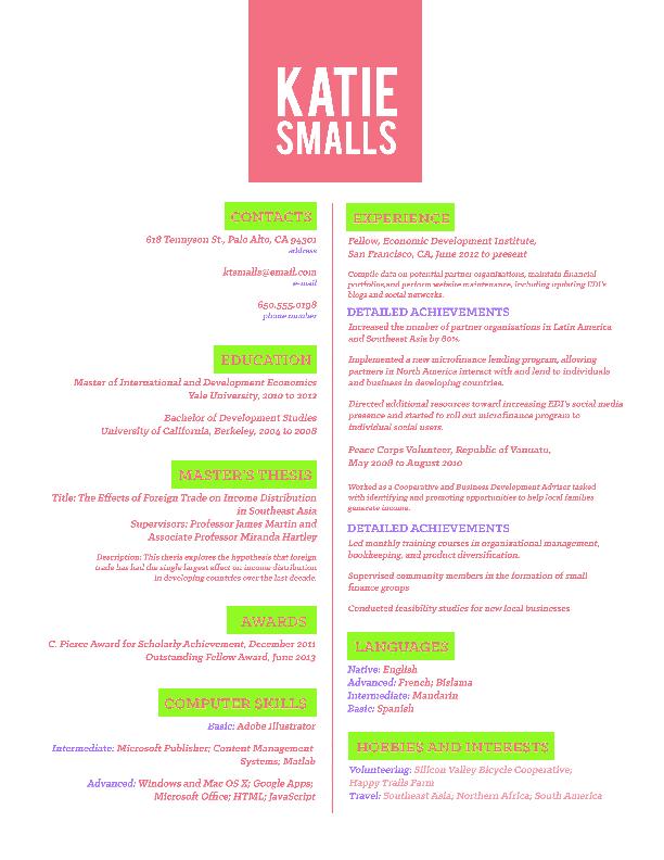 Splendid Design Ideas How To Write A Cv Resume    Examples Of Resumes  How To Write Extremely Creative     Pinterest
