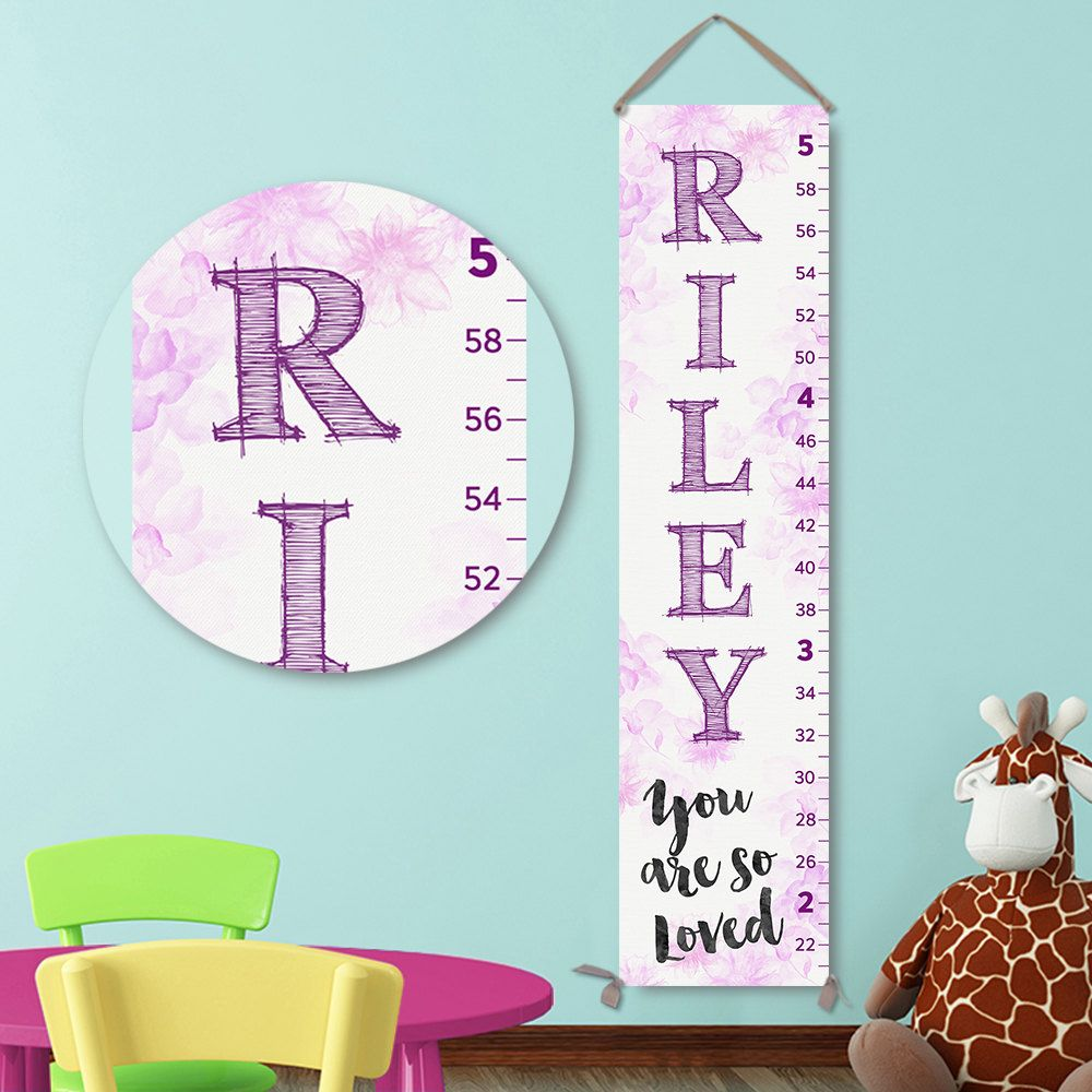 Lavender growth chart personalized growth chart canvas growth lavender growth chart personalized growth chart canvas growth chart girl growth chart nvjuhfo Choice Image