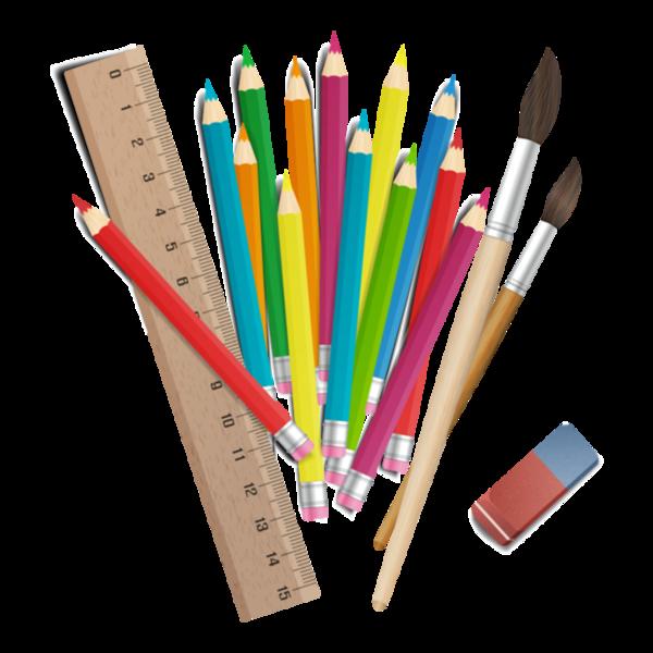 crayons,ecole,scrap,couleurs | Digital clip art, Clip art ...