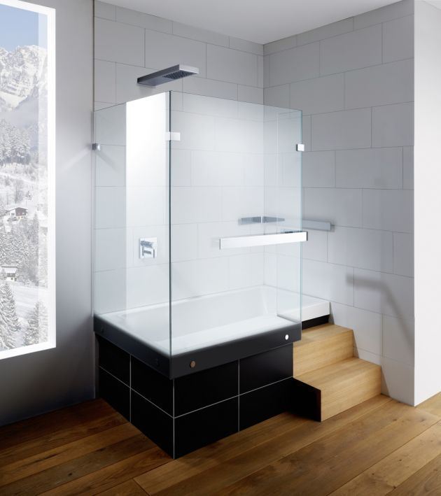 stairway duschbadewanne mit treppe bad duschen pinterest baden badezimmer und wanne. Black Bedroom Furniture Sets. Home Design Ideas