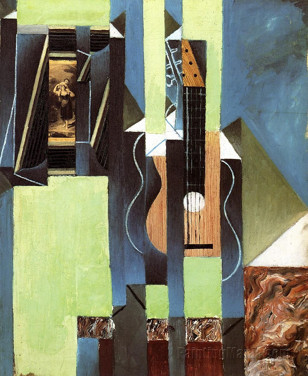 The Guitar by Juan Gris | Cubismo | Pinterest