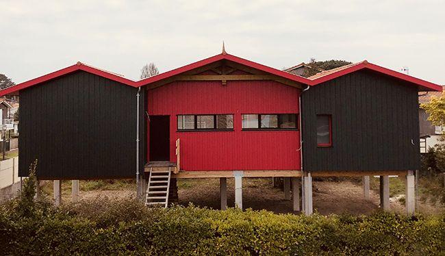 Maison bois design de 110 m² by PopUp House dans le bassin d - normes electrique maison individuelle