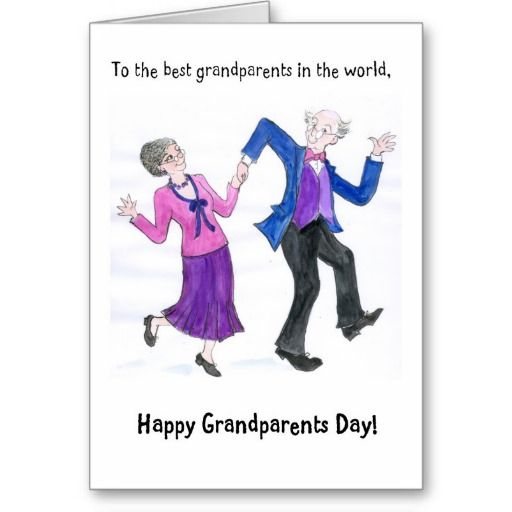 Grandparents Day Greeting Card Zazzle Com Anniversary Greeting Cards Funny Anniversary Cards Anniversary Quotes For Couple