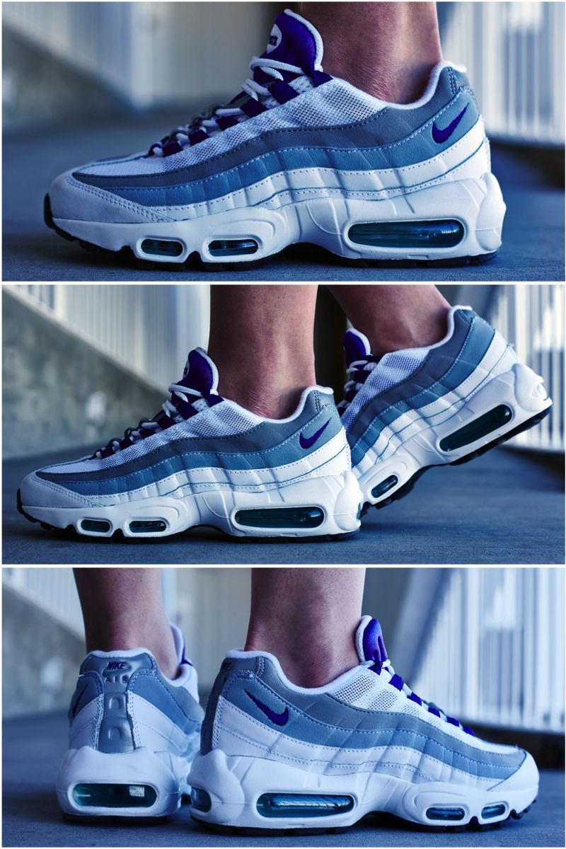 "huge discount 7daa3 013d8 ON-FOOT LOOK  NIKE AIR MAX 95 ""EMERALD GREEN"""