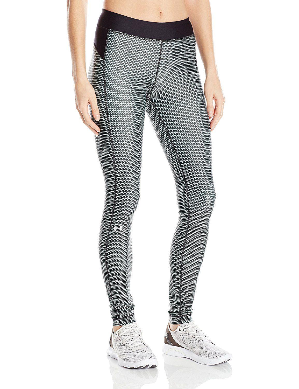 670d116f4785d Amazon.com : Under Armour Women's HeatGear Armour Printed Legging : Sports  & Outdoors #