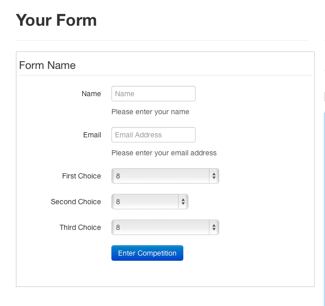 Httpminikomithubbootstrap Form Builder Bootstrap