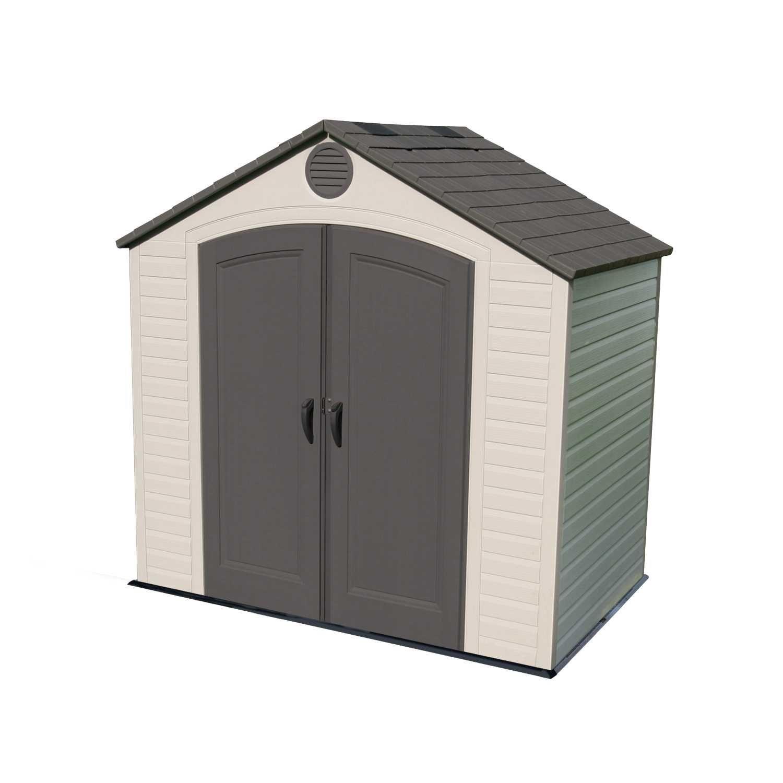 6418 33 8 square ft 232 7 cubic ft the lifetime 8 for Garden shed ventilation