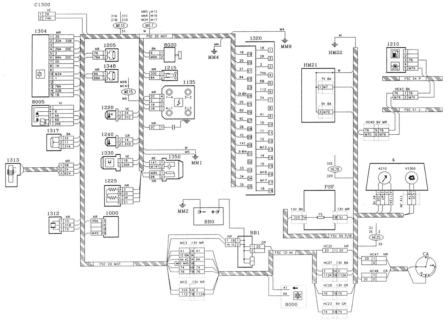 Your Wiring Diagrams Source Peugeot 206 Starting Charging ...