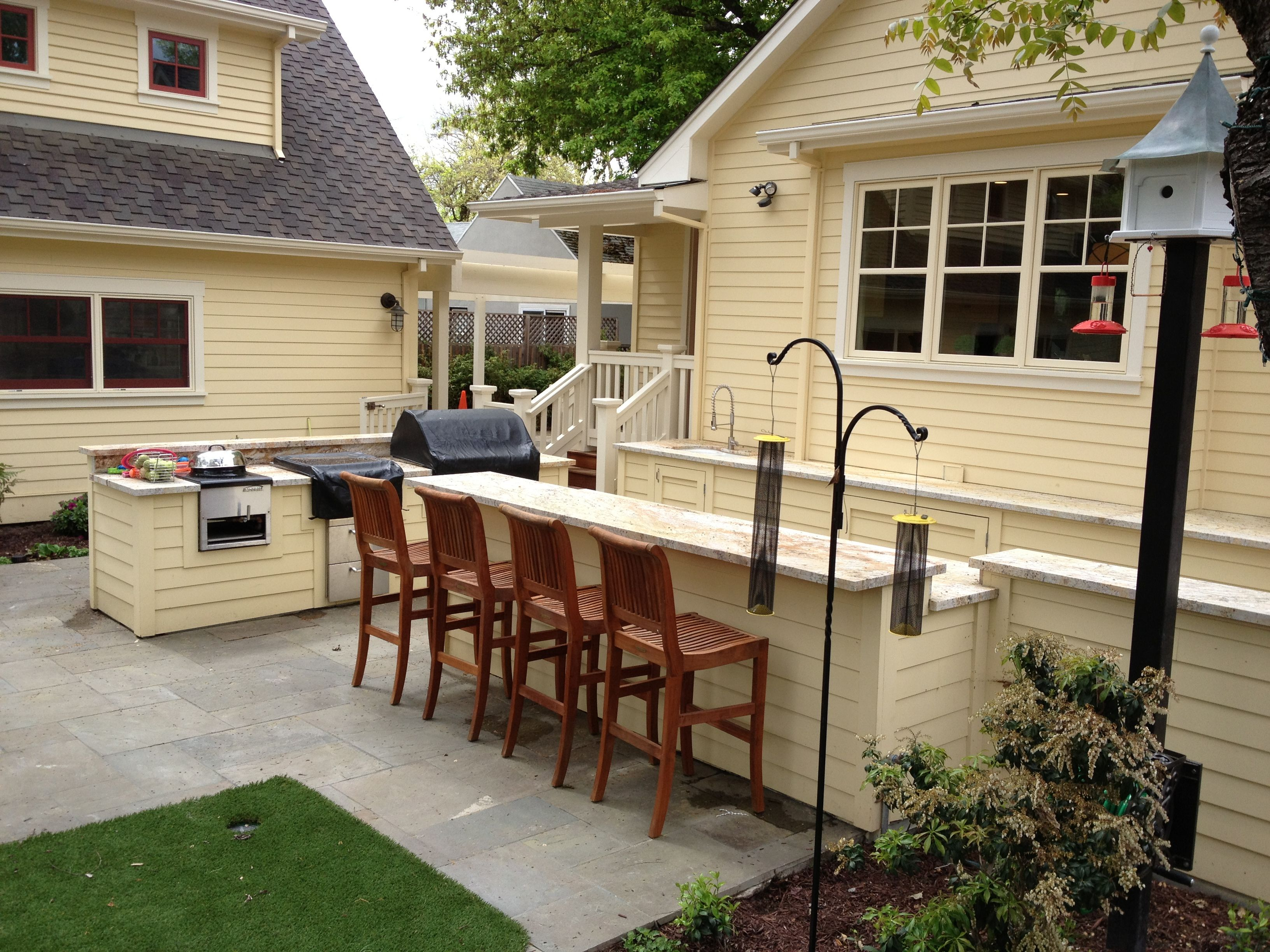Outdoor Kitchen Counter Siding To Match House Siding Outdoor Kitchen Farmhouse Style House Diy Outdoor