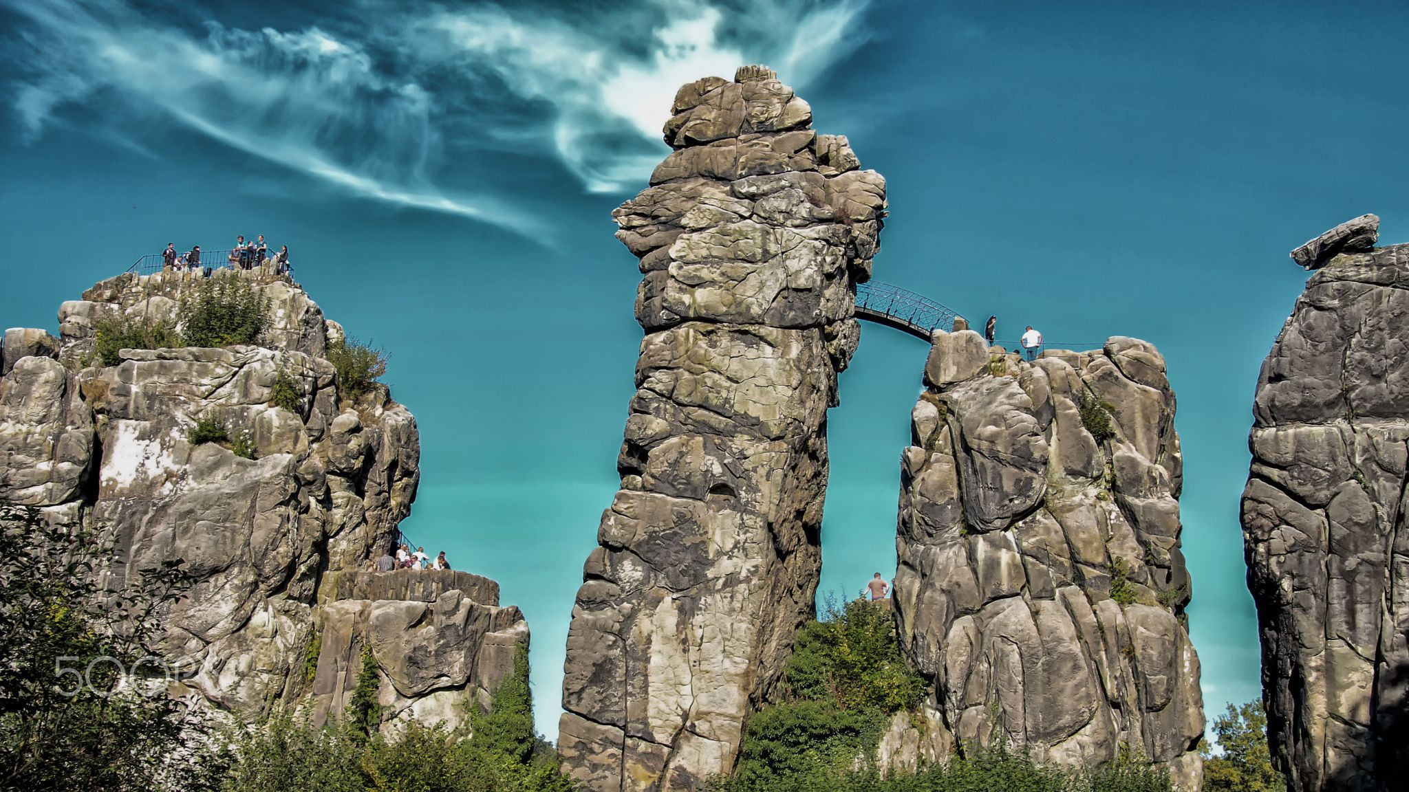 Externsteine in Germany #landscape #nature