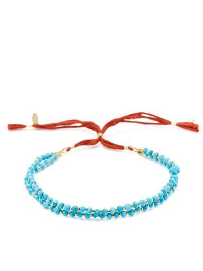 Barbara Semi-Precious Gemstone Sliding Bracelet by Shashi at Gilt
