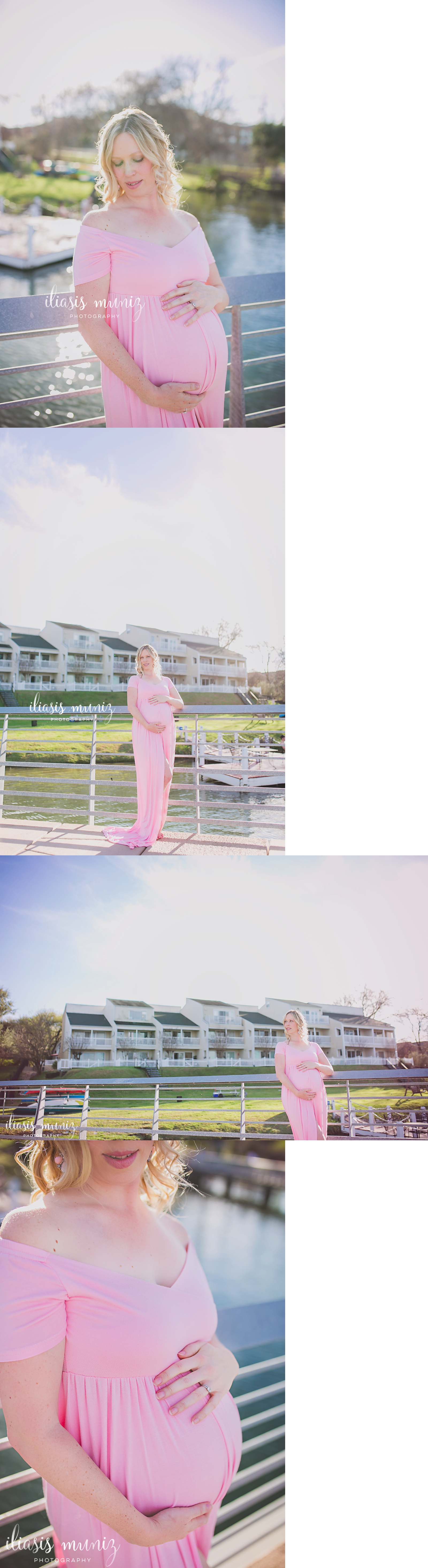 Dresses 11534 pink maternity gown cotton maternity dress dresses 11534 pink maternity gown cotton maternity dress maternity prop blue plum white gown ombrellifo Images