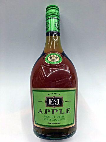 E J Apple 750ml Apple Brandy Apple Frozen Mixed Drinks