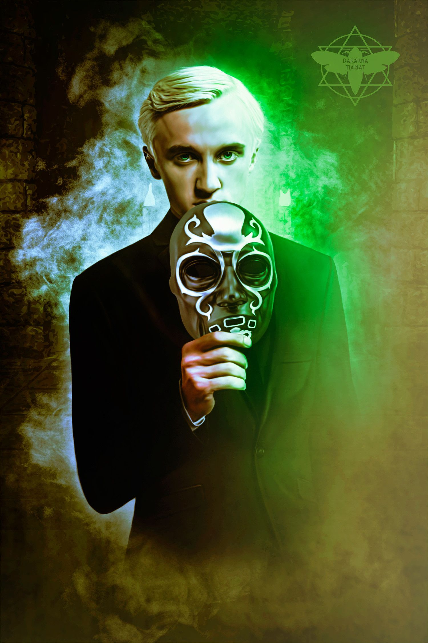 Tom Felton As Draco Malfoy Draco Harry Potter Draco Malfoy Fanart Harry Potter Wallpaper