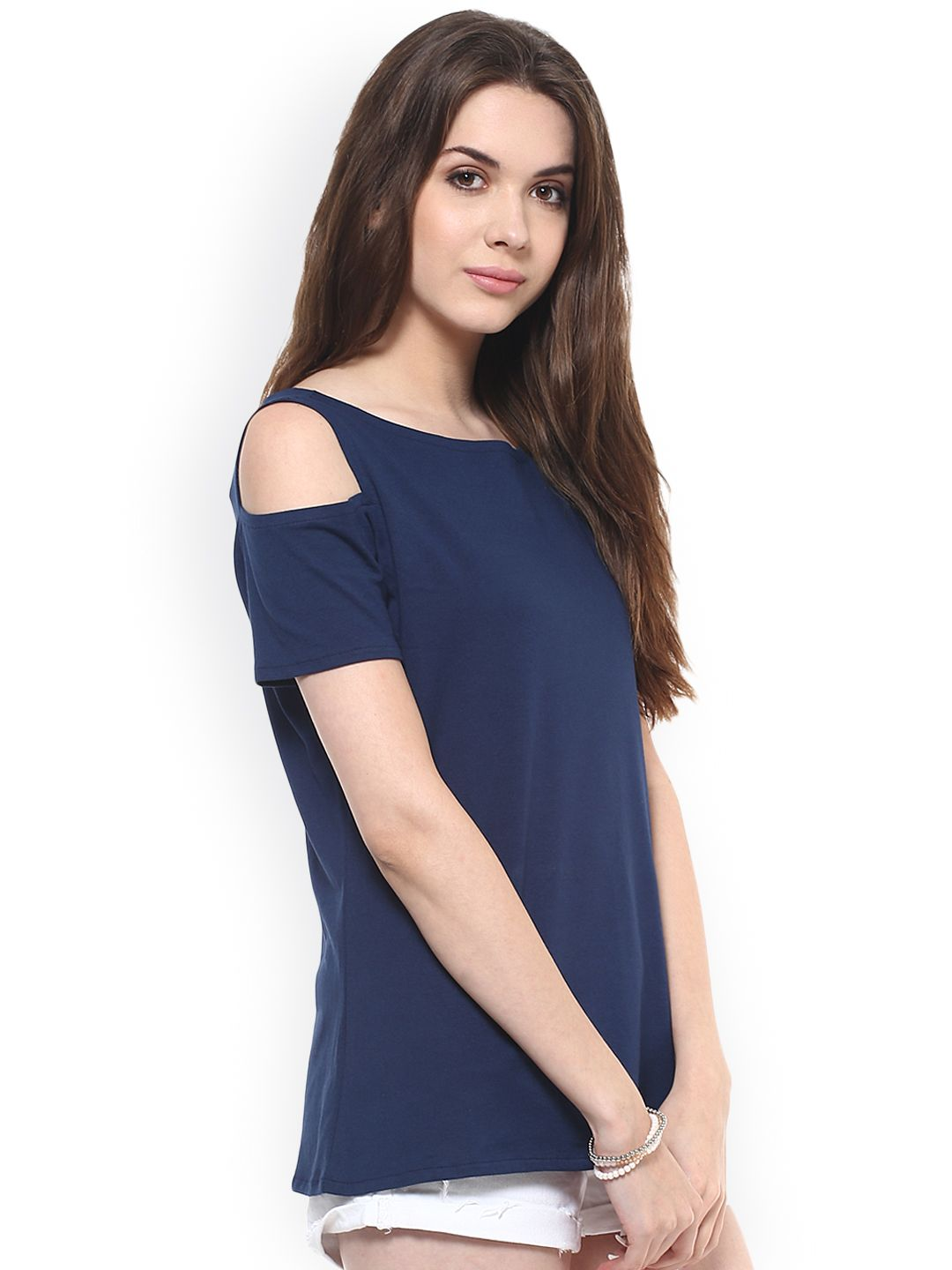 8242a6a2bbe Ladies Tops - Buy Tops   Tshirts for Women Online in India - Myntra ...