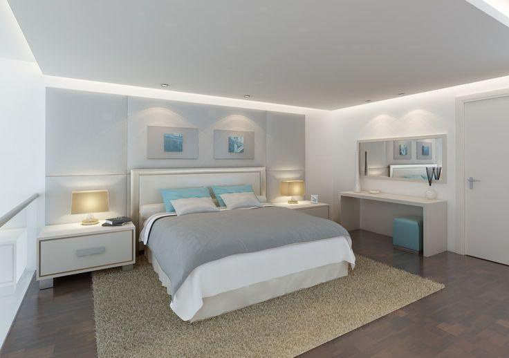 Pared dormitorio luz indirecta buscar con google for Plafones pared dormitorio