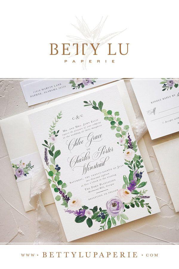 elegant, lavender, wedding invitations, elegant wedding invitations ...