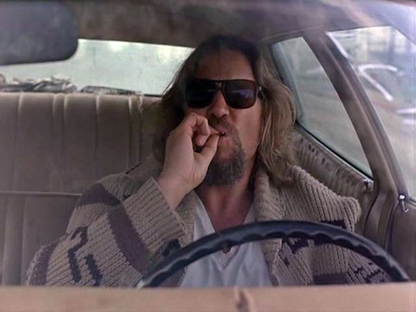Jeff Bridges Throws First Pitch At A Dodgers Game Big Lebowski