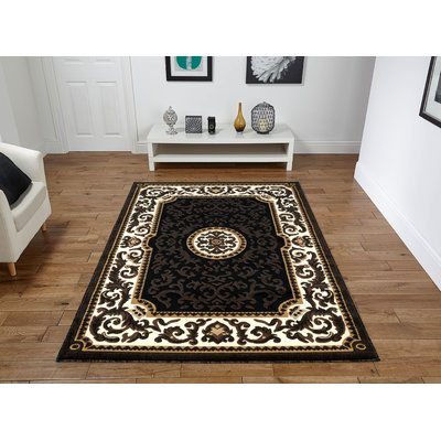 Astoria Grand Leger Dark Brown Area Rug Rug Size Rectangle 8 X