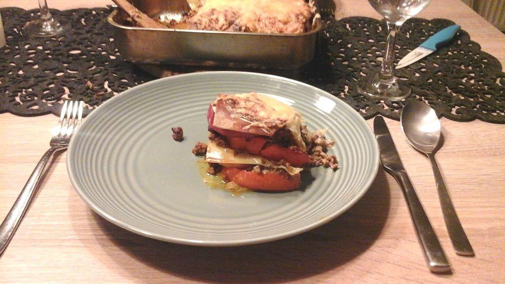 Herbst/Winter-Rezept: Kürbis-Apfel-Lasagne