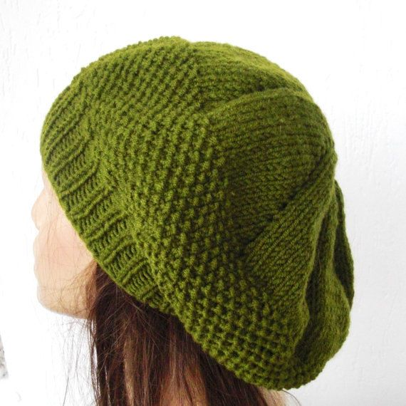 Instant Download Knitting Pattern PDF DIY Knit hat pattern Digital ...
