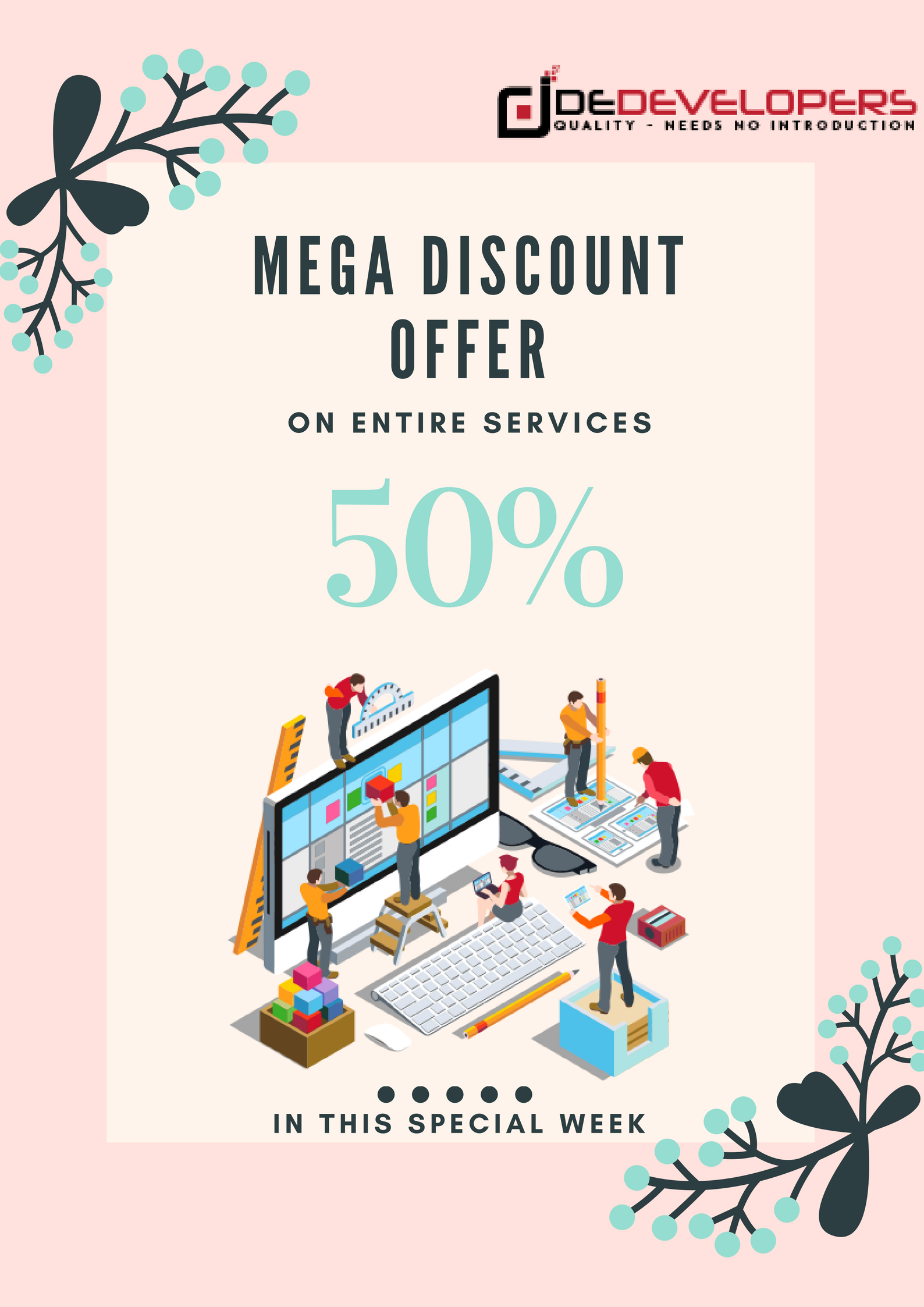 Get an amazing discount 50 with dedevelopers dedevelopers get an amazing discount 50 with dedevelopers dedevelopers on reheart Images