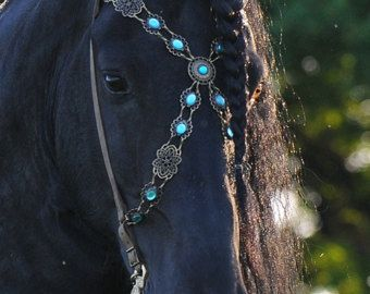 Show Browband suitable with Bridle-Baroque Bridle by Prunkpferd