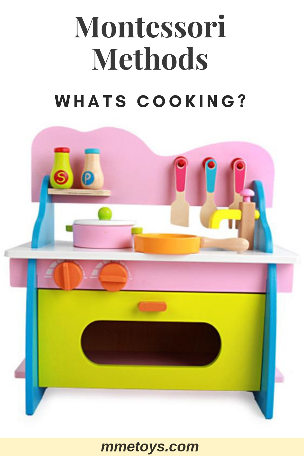 Kitchen Cooking Playset Role Play | Montessori Toys | Toy ...