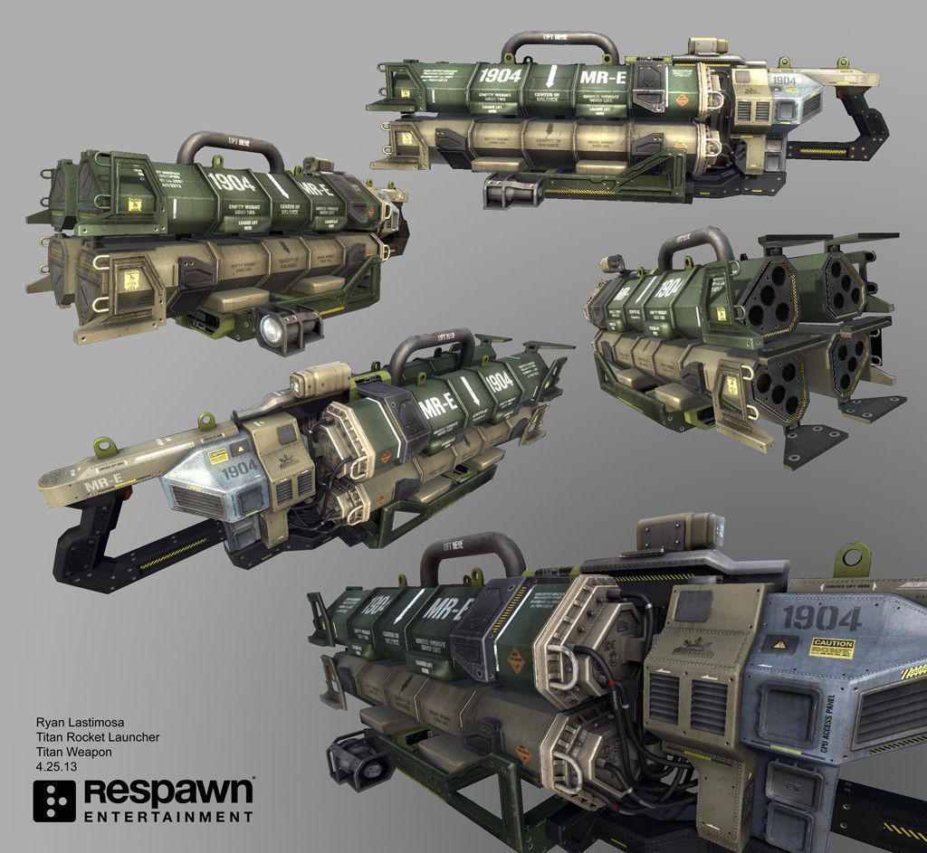 Titanfall Titans Weapons | www.pixshark.com - Images ...