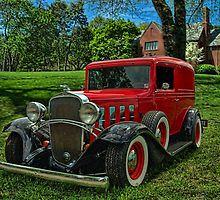 1932 Chevrolet Sedan Delivery by TeeMack