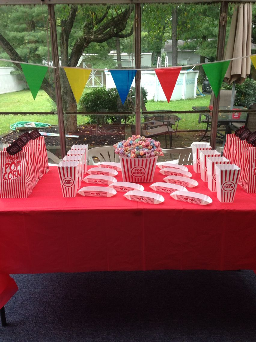 Carnival theme birthday party | Outdoor furniture sets ...